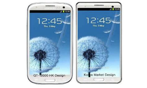 Hp Samsung S3 Gt 19300 Buatan Korea Samsung Galaxy S3 South Korean Version Android Smartphones Different Design
