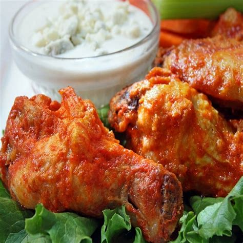 Oven Win Gas oven baked buffalo chicken wings magic skillet