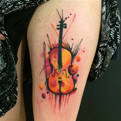 101 genius music tattoos that you ll want to get for yourself