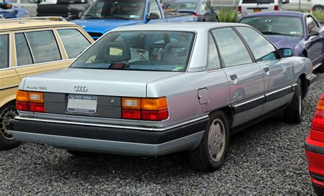 how things work cars 1990 audi 100 security system file 1990 audi 100 rear usa jpg wikimedia commons