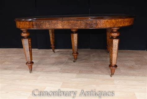Extending Walnut Italian Marquetry Dining Table Marquetry Dining Table