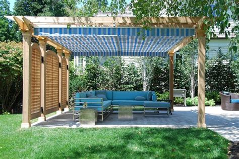 pergola sun shade 17 best ideas about retractable pergola on