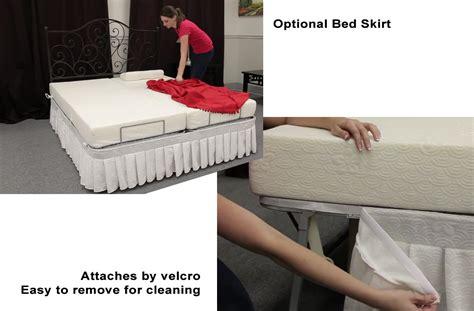 pragma adjustable metal bed frame raises head  feet