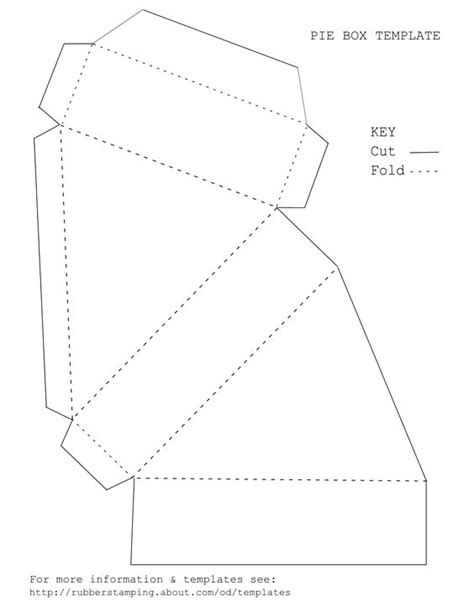 cake slice boxes template make an attractive pie wedge gift box with our free pdf