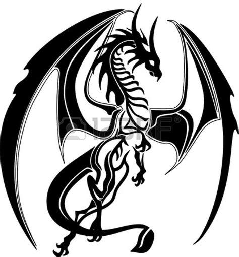 tribal like tattoos tribal like fotostock dragons