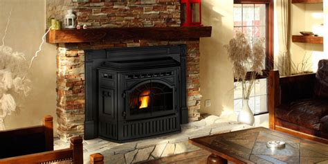 mt vernon e2 pellet fireplace insert contemporary