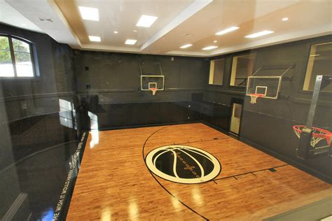 how much to build a basketball court in backyard residential indoor sportprosusa