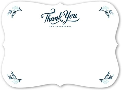 Thank You Messages Thank You Card Wording Ideas Shutterfly Thank You Note Cards Template