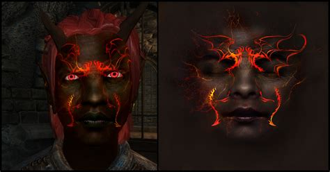oblivion better faces dremora texture at oblivion nexus mods and community