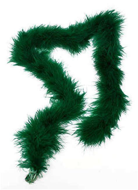 hunter green marabou feather boa feathers basic craft