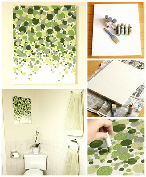 make your own artwork for home decor 20 painted wall art ideas the crafty blog stalker