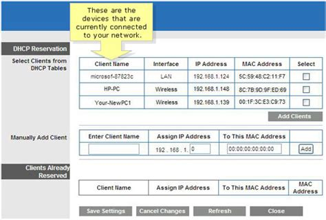 Cisco Mac Address Lookup How To Assign A Static Ip To A Mac Address Through Dhcp