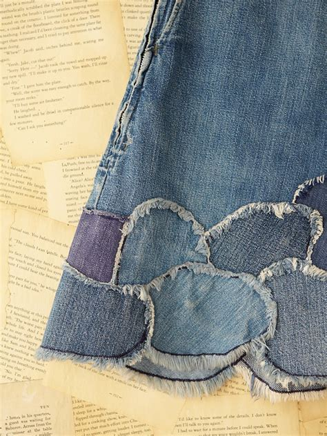 Be Inspired By Free Peoples Patchwork Laptop Bag by Free Vintage Patchwork Denim Skirt In Blue Lyst