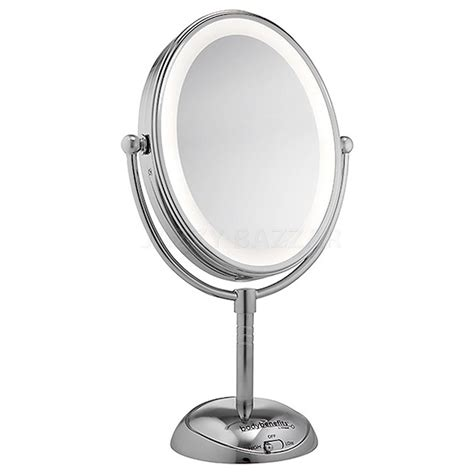 sided lighted mirror conair cbe51leda led lighted mirror cordless