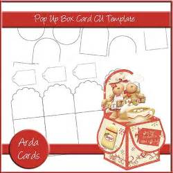 Pop Up Card Box Template by Pop Up Card Arda Productions A Digital Arts Company