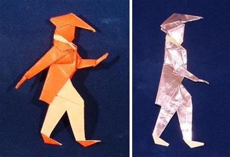 How To Make An Origami Soldier - how to make an origami soldier 28 images orirobo