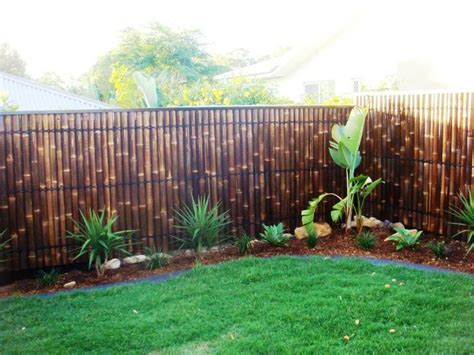 Backyard Bamboo Fencing by Bamboo Fence Panels Privacy Garden Screens Pool Spas