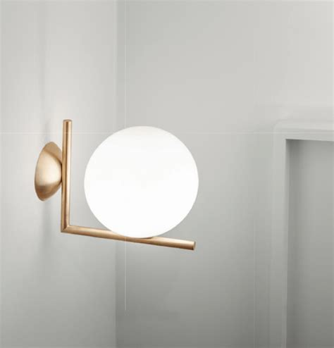 flos bathroom light flos ic lights 300 c w2 wall or ceiling light london