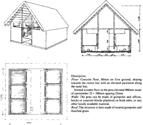 Car Barn Plans by Farm Structures Ch10 Animal Housing Cattle Housing