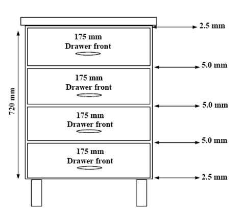 Standard Kitchen Drawer Dimensions by Standard Kitchen Cabinet Drawer Depth 40 Images