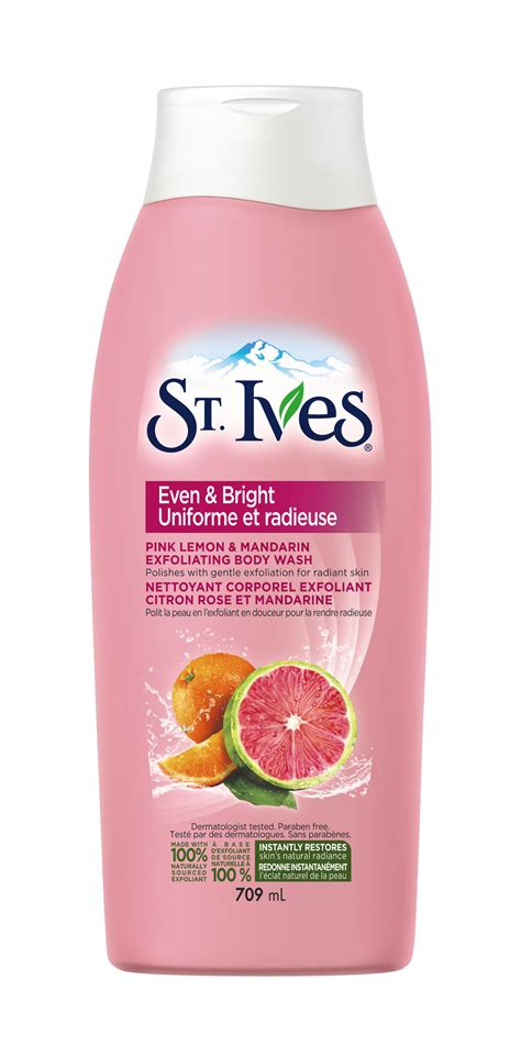 St Ives Even And Bright Pink Lemon And Mandarin Orange Wash 24oz st ives even bright pink lemon mandarin orange wash reviews in wash