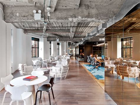 interior design magazine new york office wme img s office by the rockwell group lets talent shine