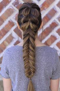 pull through fishtail braid combo hairstyles