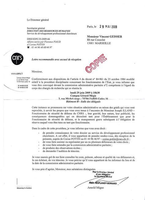 Modèles De Lettres Administratives Pdf Modele D Une Lettre Administrative Pdf
