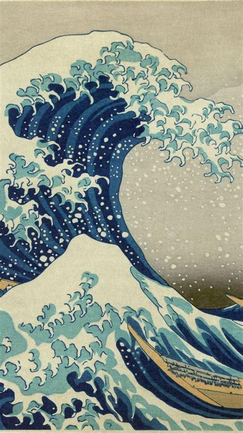 tap     app art  great wave  kanagawa