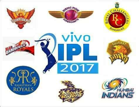 ipl teams 2017 indian premier league 2017 schedule download vivo ipl 10