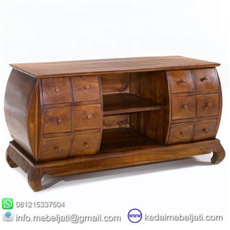 Buffet Kayu beli buffet model opium kayu jati jepara murah kedai