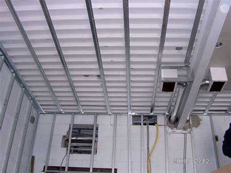 Strapping Ceiling For Drywall interior construction schoolhouse energy retrofit