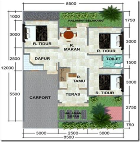 desain interior rumah lebar 4 meter 17 best images about home on pinterest house plans
