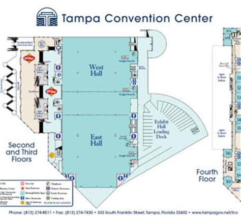 Tampa Convention Center Floor Plan by Tampa Convention Center Visit Tampa Bay