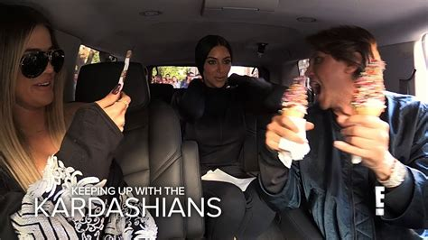 kim kardashian diet youtube kuwtk khloe kim kardashian go on food binge before