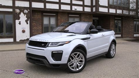 land rover discovery convertible 2017 land rover range rover evoque overview cars com