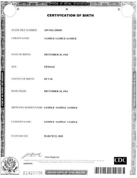 date of birth format templates birth certificate template certificate templates