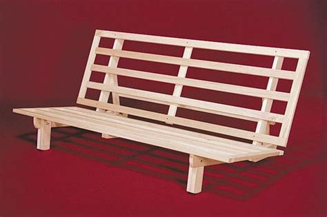 Futon Bed Wood Frame by Details About Futon Frame Solid Wood New Bi Fold Futon