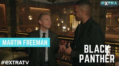 does freeman martin freeman dishes on his black panther