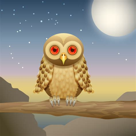 tutorial illustrator owl how to create a curious owl in illustrator cs4