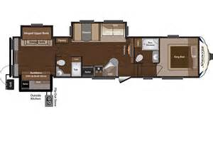 Fifth Wheel Floor Plans by All Floor Plans For 2014 Keystone Sprinter Copper Canyon