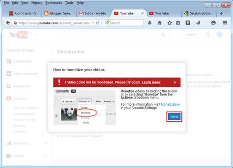 google adsense tutorial español 2015 youtuber for step by step melakukan monetisasi video