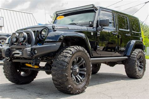 2013 Jeep Wrangler Unlimited Rubicon For Sale 2013 Custom Black Jeep Wrangler Unlimited Rubicon For Sale