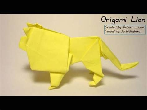 Why Was Origami Created - how to make an origami created by robert j lang www