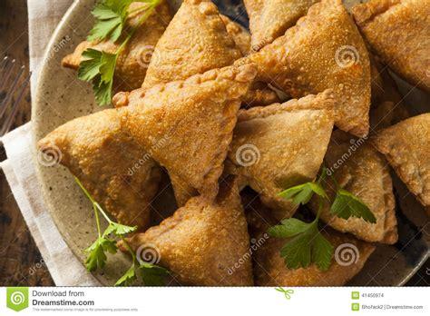 fried indian samosas stock photo image 41450974
