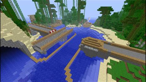 minecraft swing minecraft swing bridge youtube