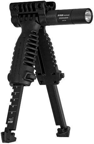 mako vertical foregrip bipod w light mako foregrip bipod w tactical light guns