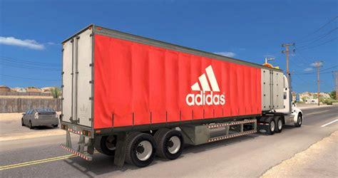 curtain trailer adidas standalone curtain trailer mod american truck