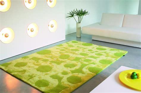tappeto moderno verde tappeti moderni rinnova arredamento di casa con colori