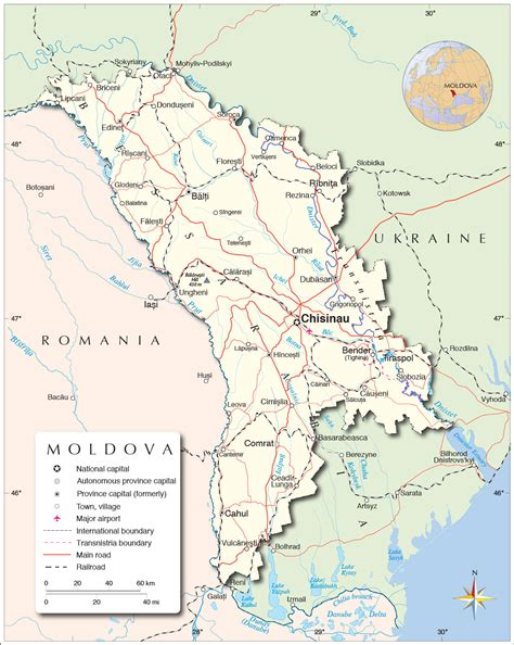 moldova map political map of moldova nations project